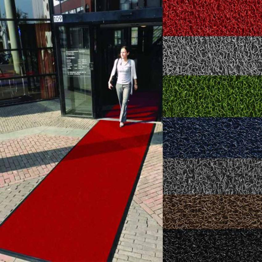 tapis d entree a la coupe tapis antiderapant exterieur pvc neosol