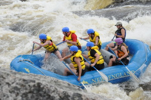Whitewater Rafting with NEOC - Becca is the guide