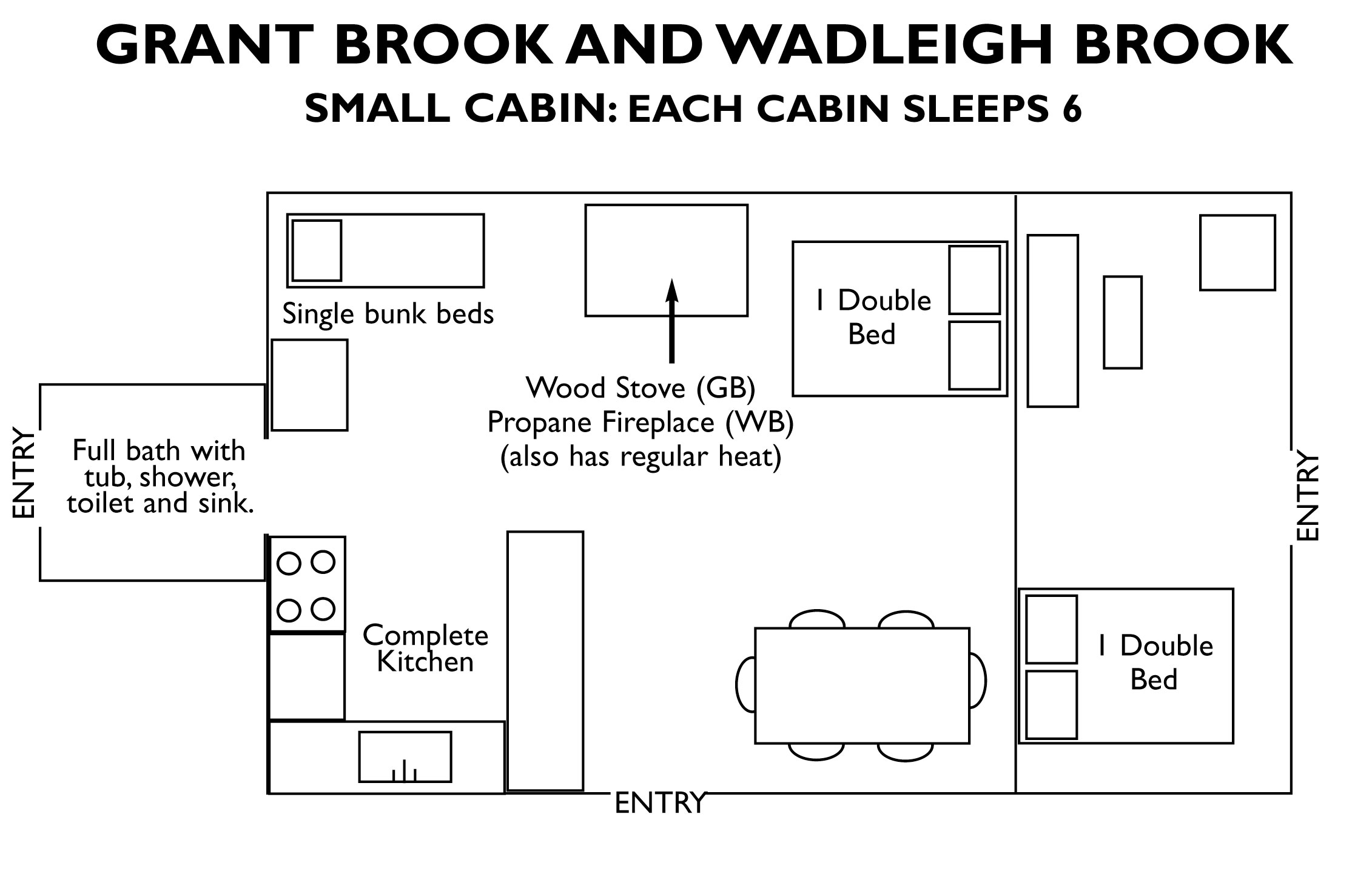 Small Hunting Cabin Floor Plans Free Plans Diy Free