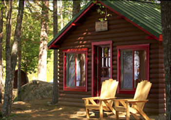 Hotel Lodging Accommodation Cabins in maine Baxter
