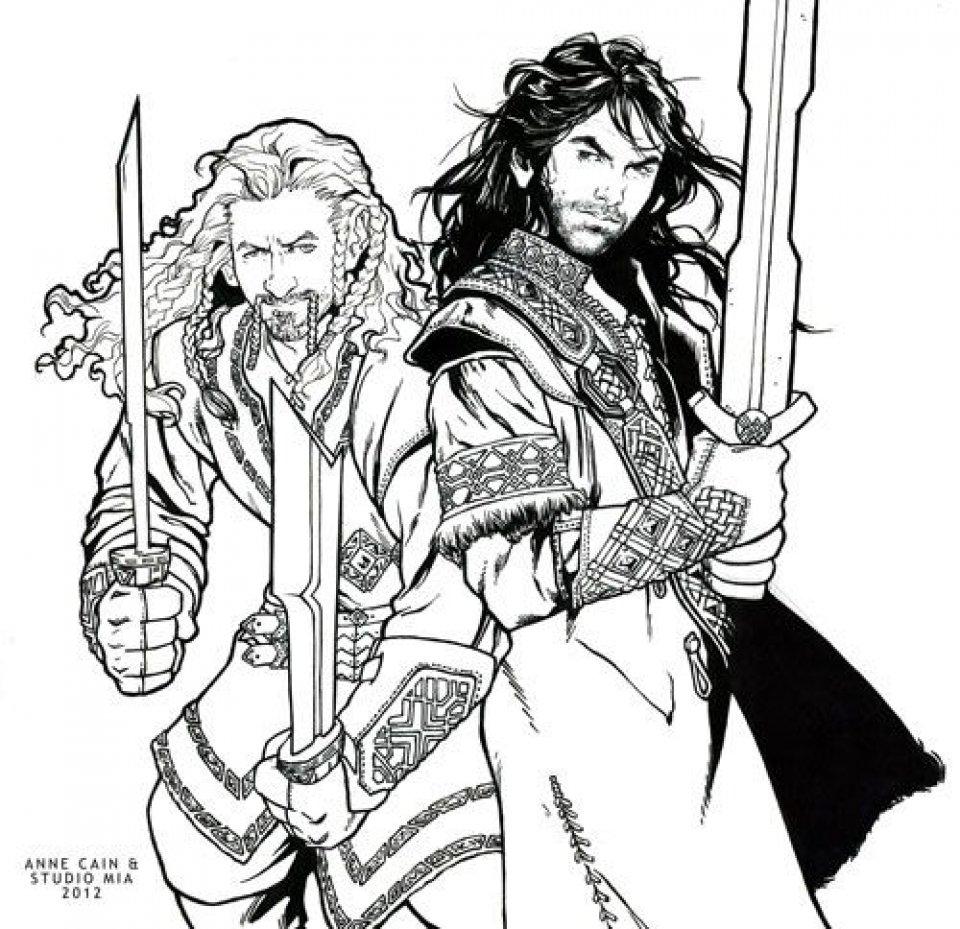 Hobbit Coloring Pages
