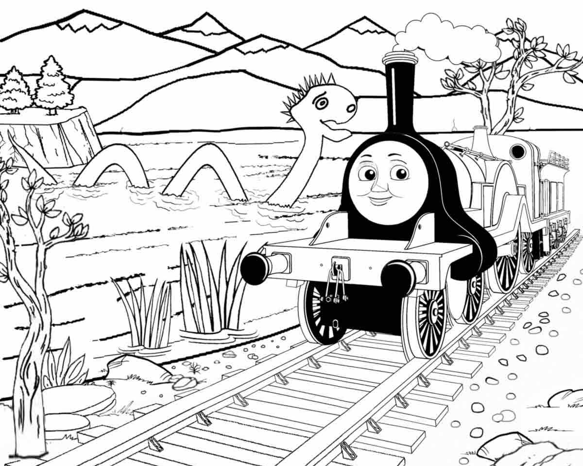 Thomas The Train Coloring Pages Emily Neo Coloring