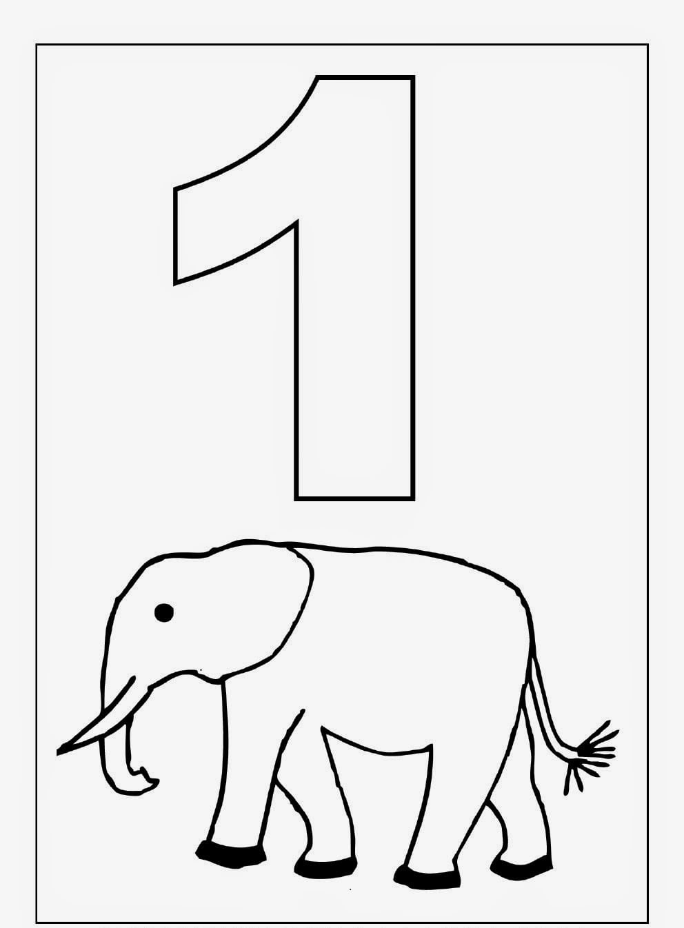 Kindergarten Coloring Worksheets
