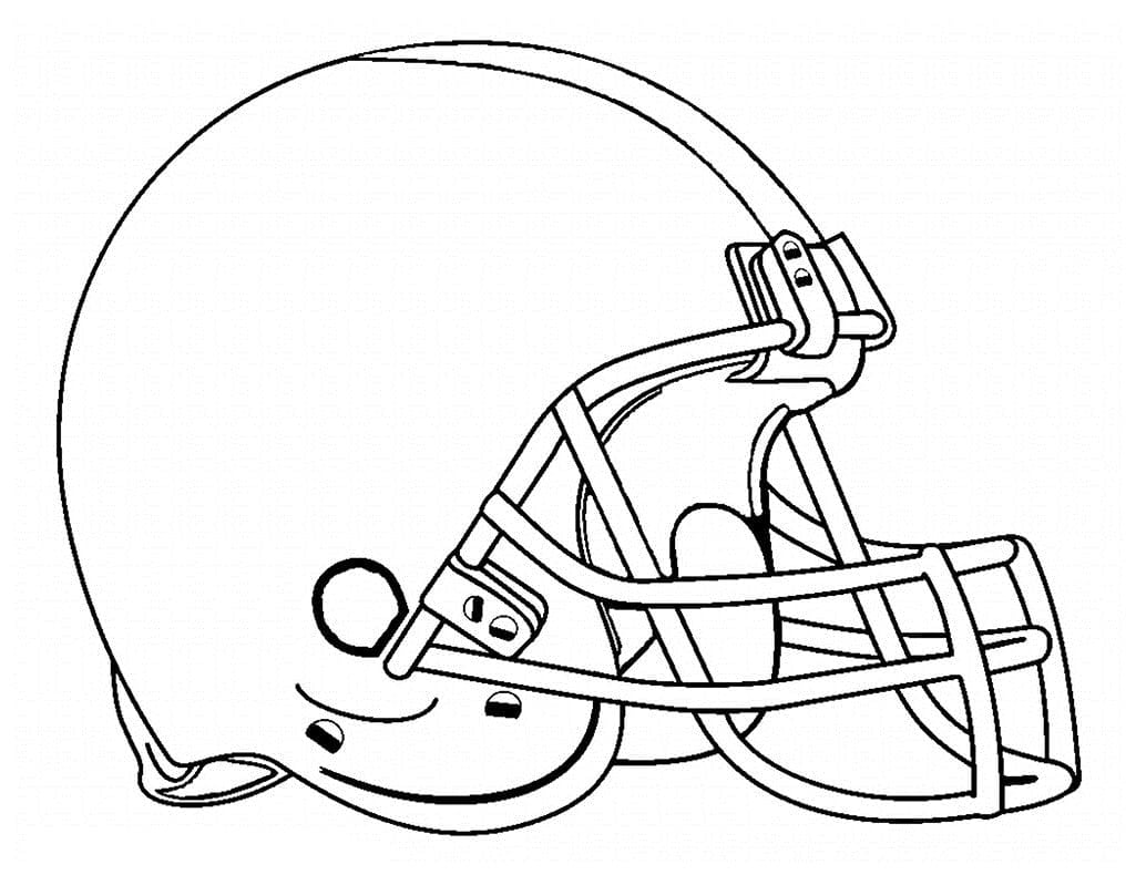 Football Helmet Coloring Pages Neo Coloring