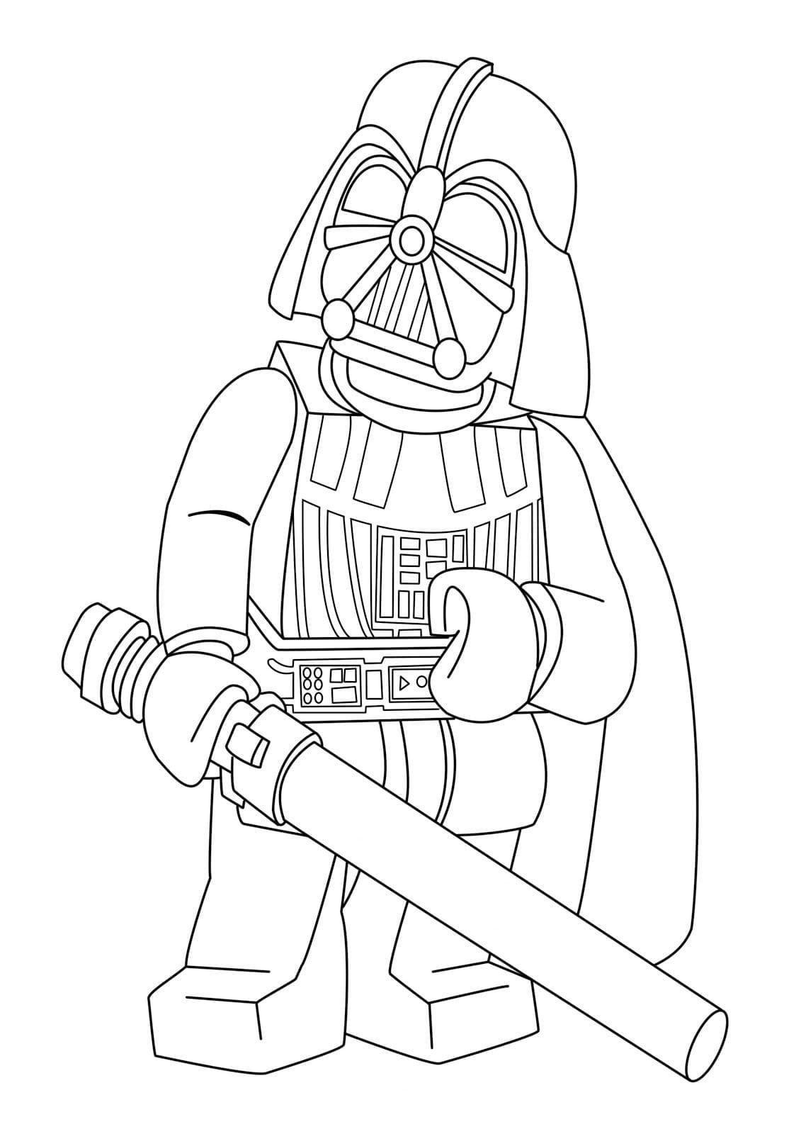 Star Wars Coloring Sheet