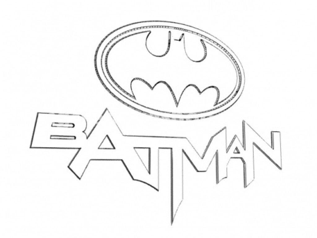 Batman Coloring Worksheet