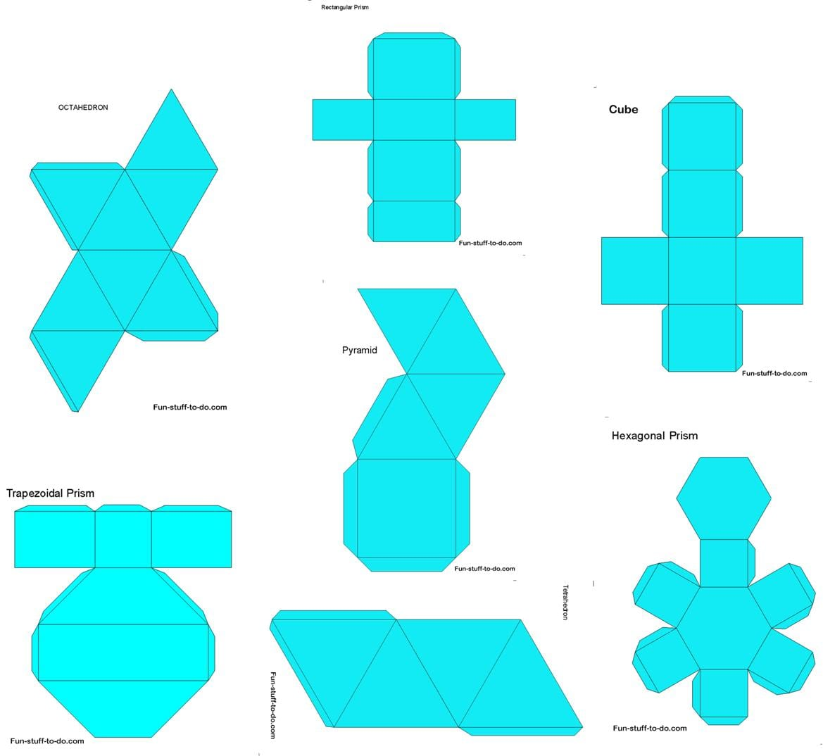 Shapes To Print Free