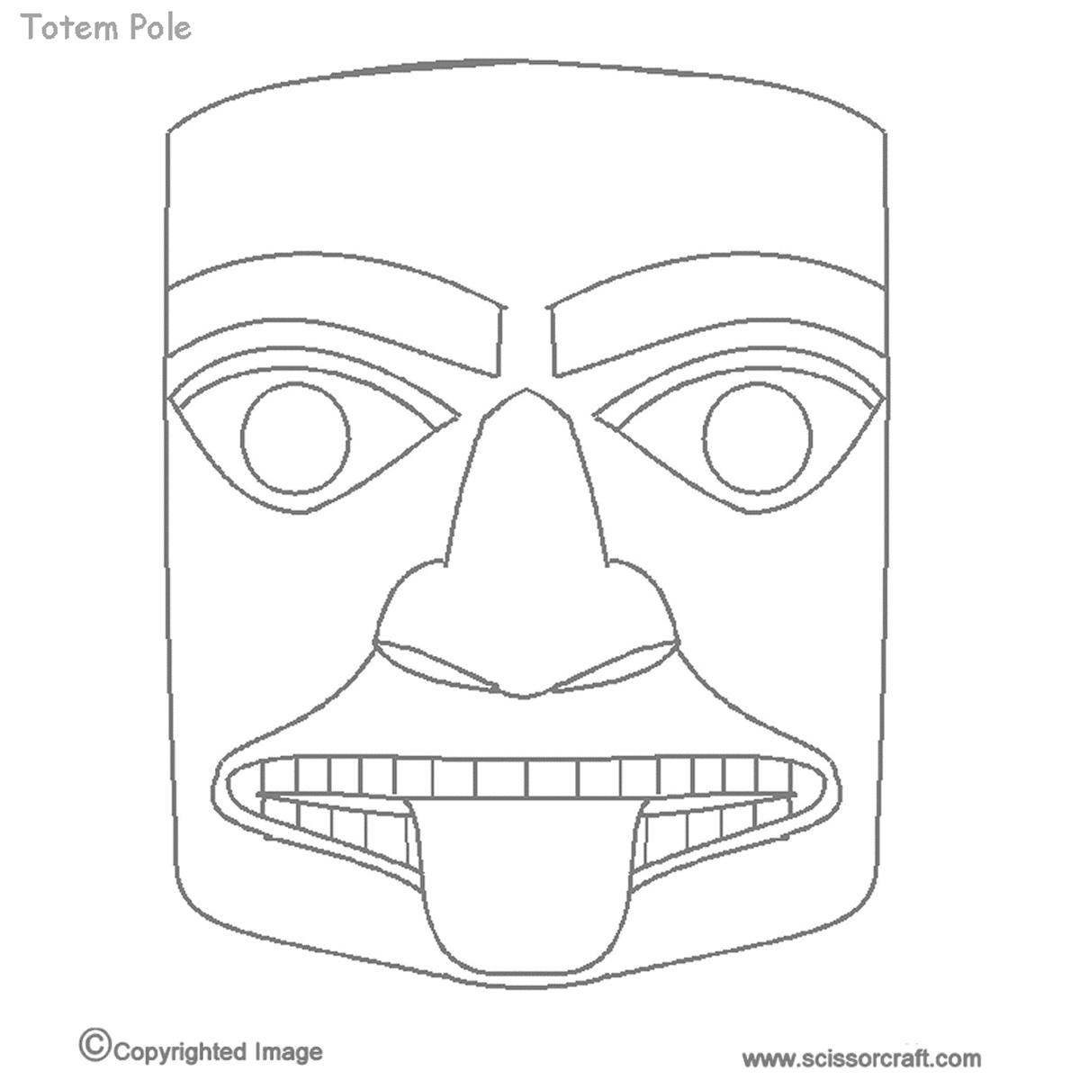Printable Totem Pole Animals