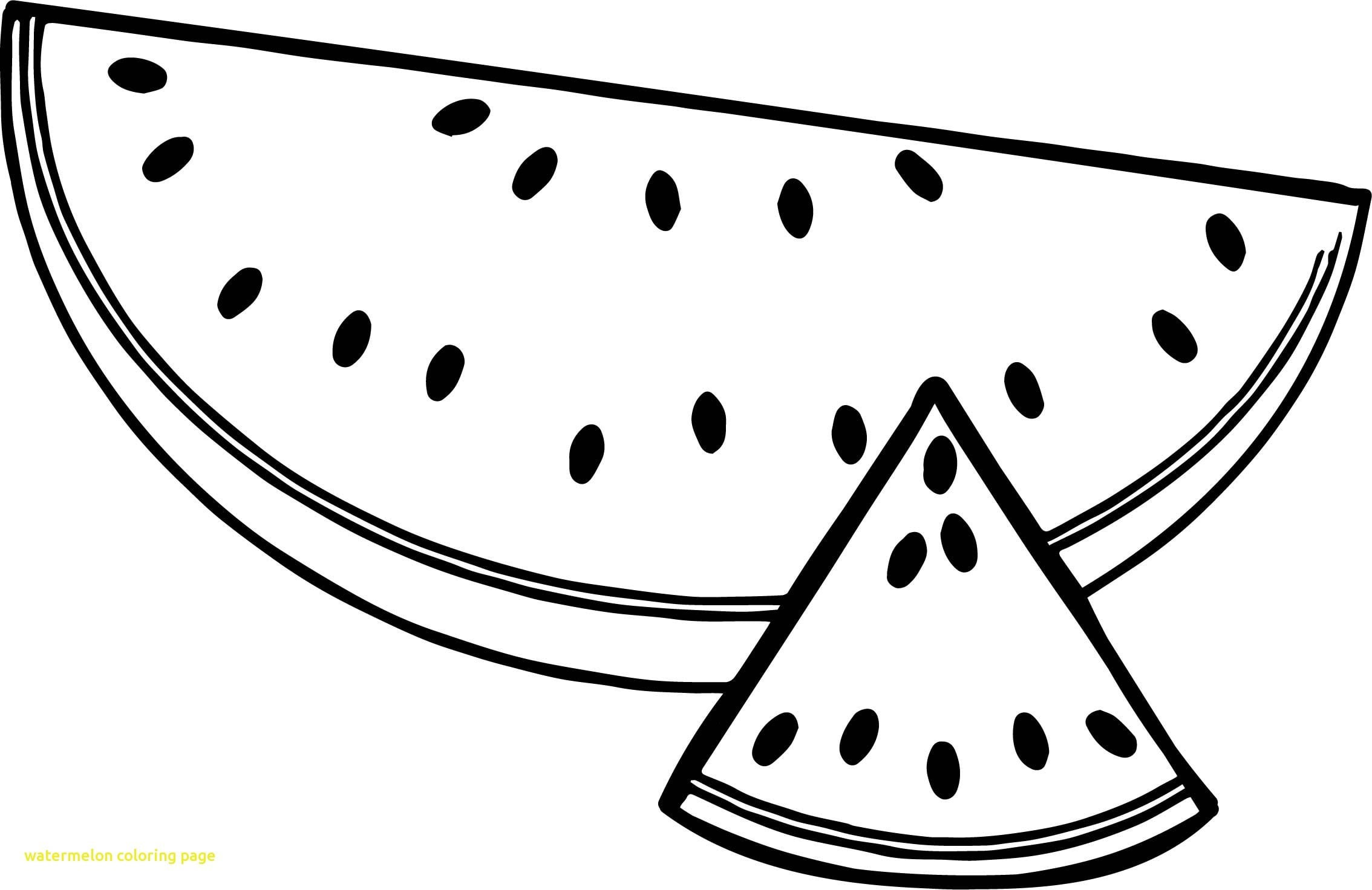 Coloring Pages Of Watermelon