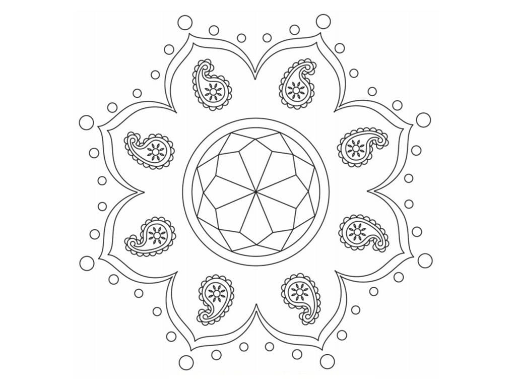 Rangoli Stencils Printable