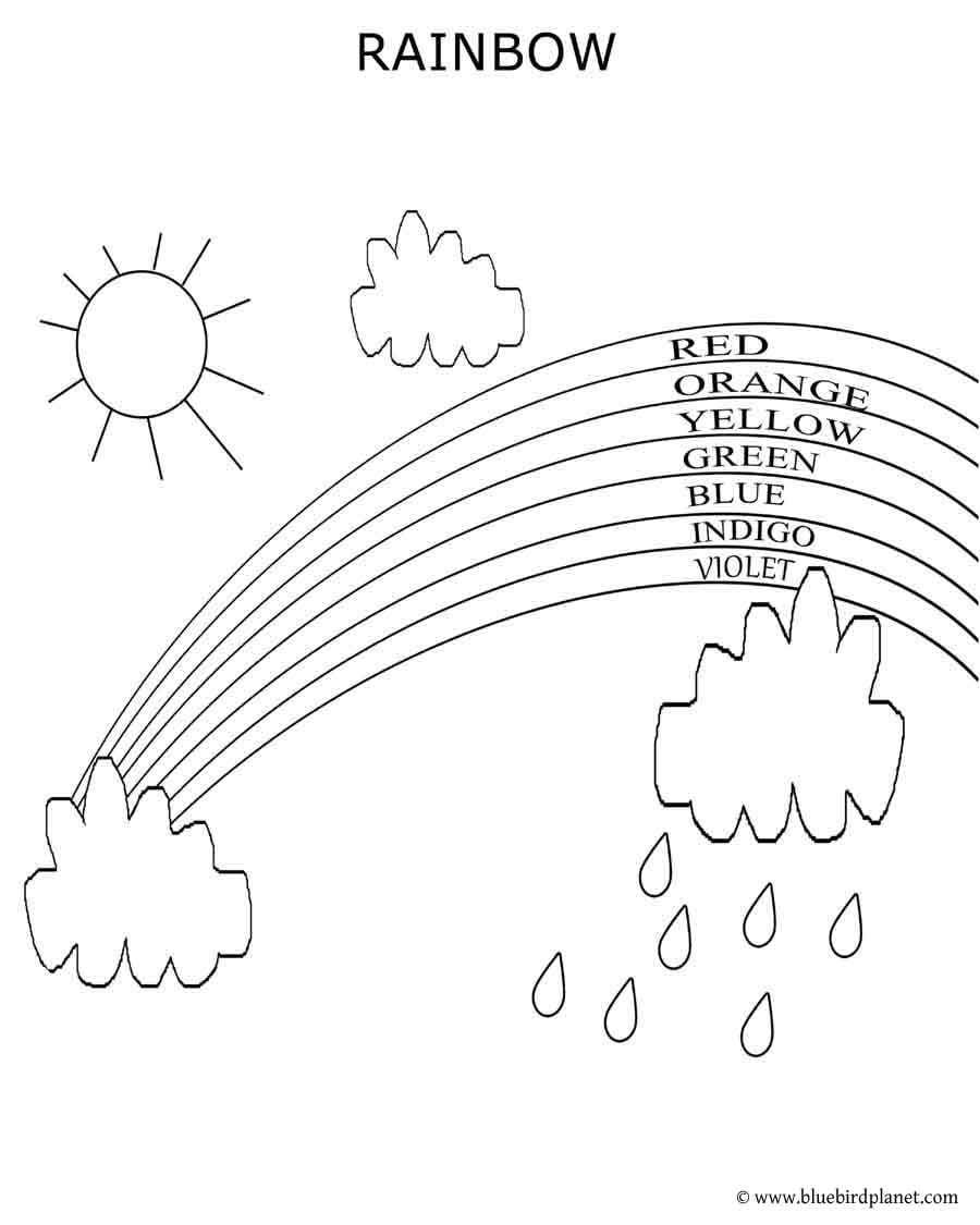 Rainbow Printables For Preschoolers