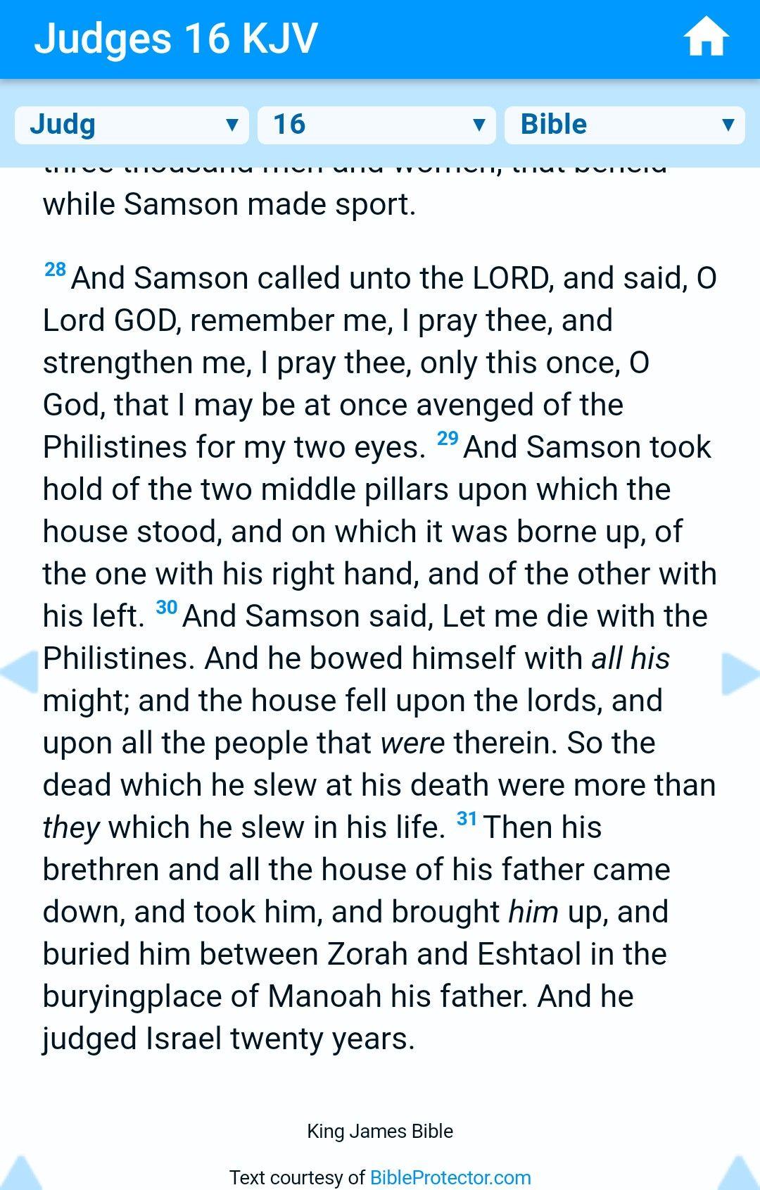 Judges 16 Samson Amp Delilah 5of5 Amp Biblehub Com Kjv App