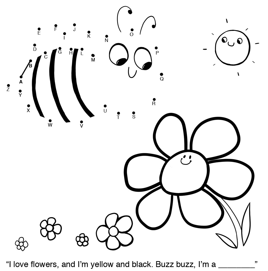 Easy Connect The Dots Worksheets