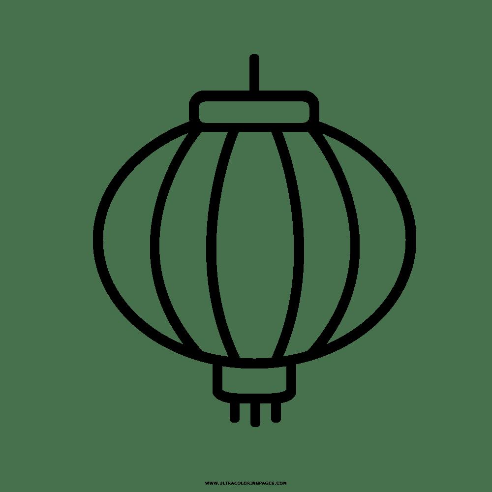 Paper Lantern China Coloring Book