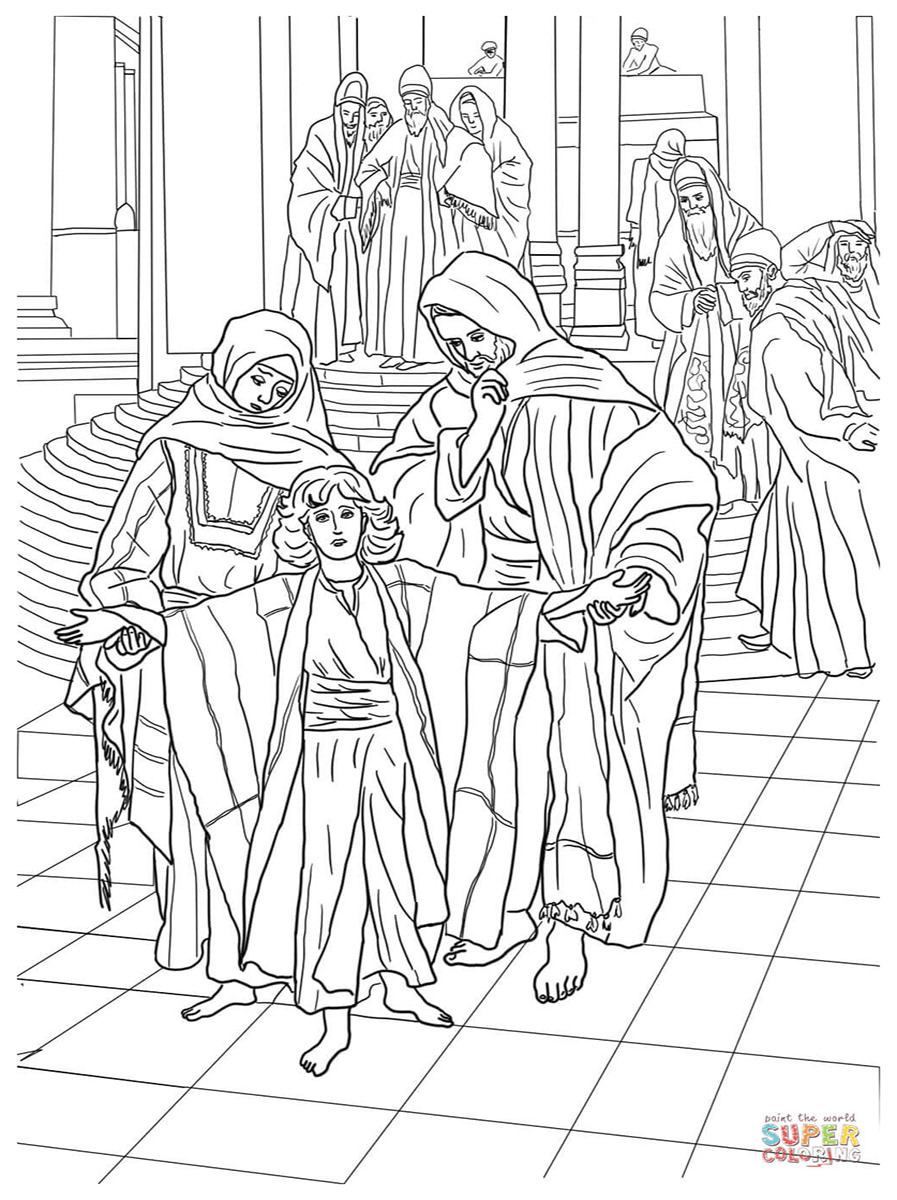 Luke 16 10 Coloring Pages