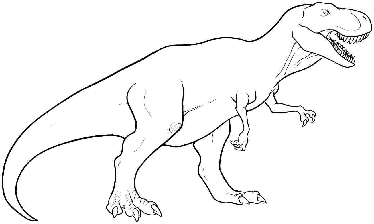 Dinosaur Drawings To Print