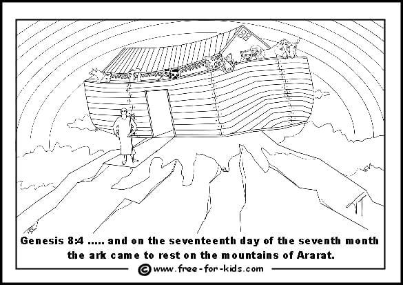 Free Coloring Pages Ark Of The Covenant