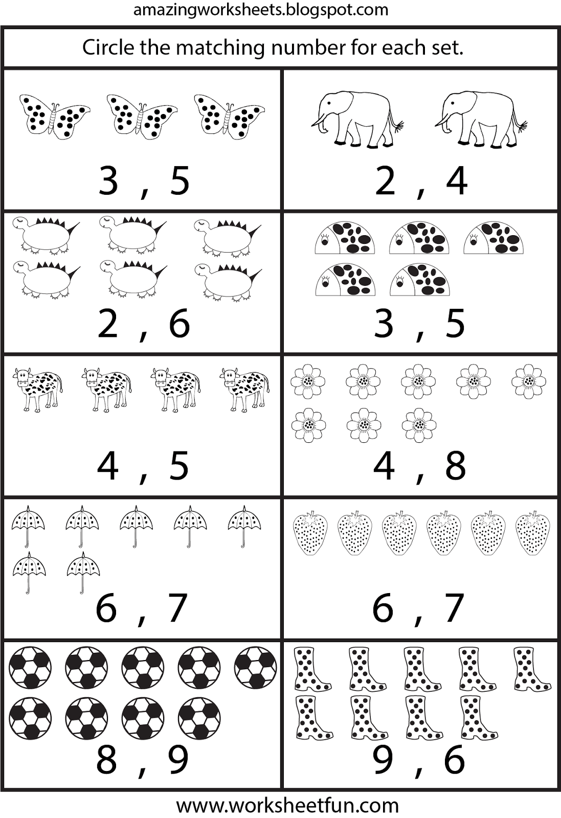 Counting Worksheets For Kindergarten A Neo Coloring