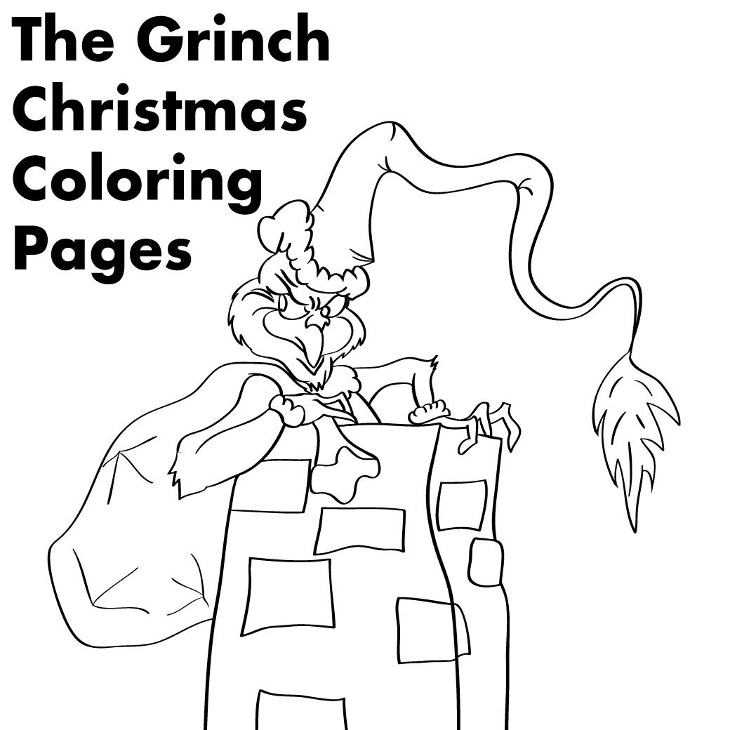 Grinch Christmas Printable Coloring Pages Neo Coloring