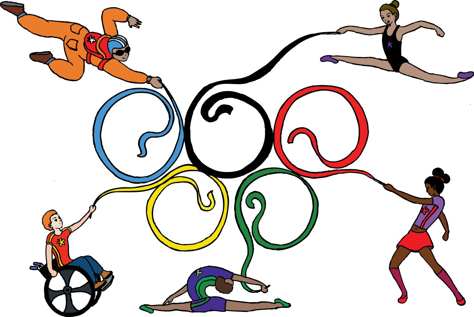Olympic Pictures To Colour