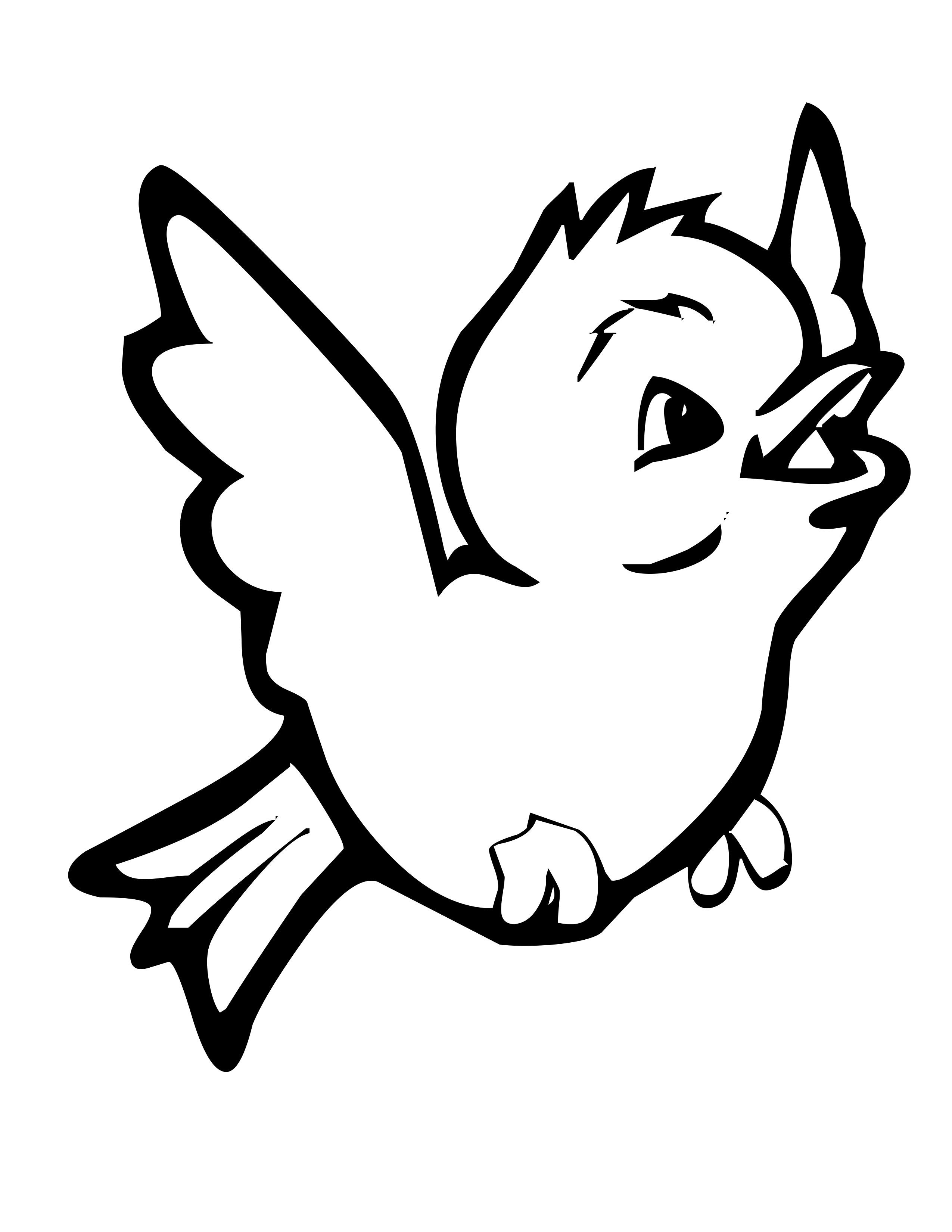 Donkey Face Coloring Pages