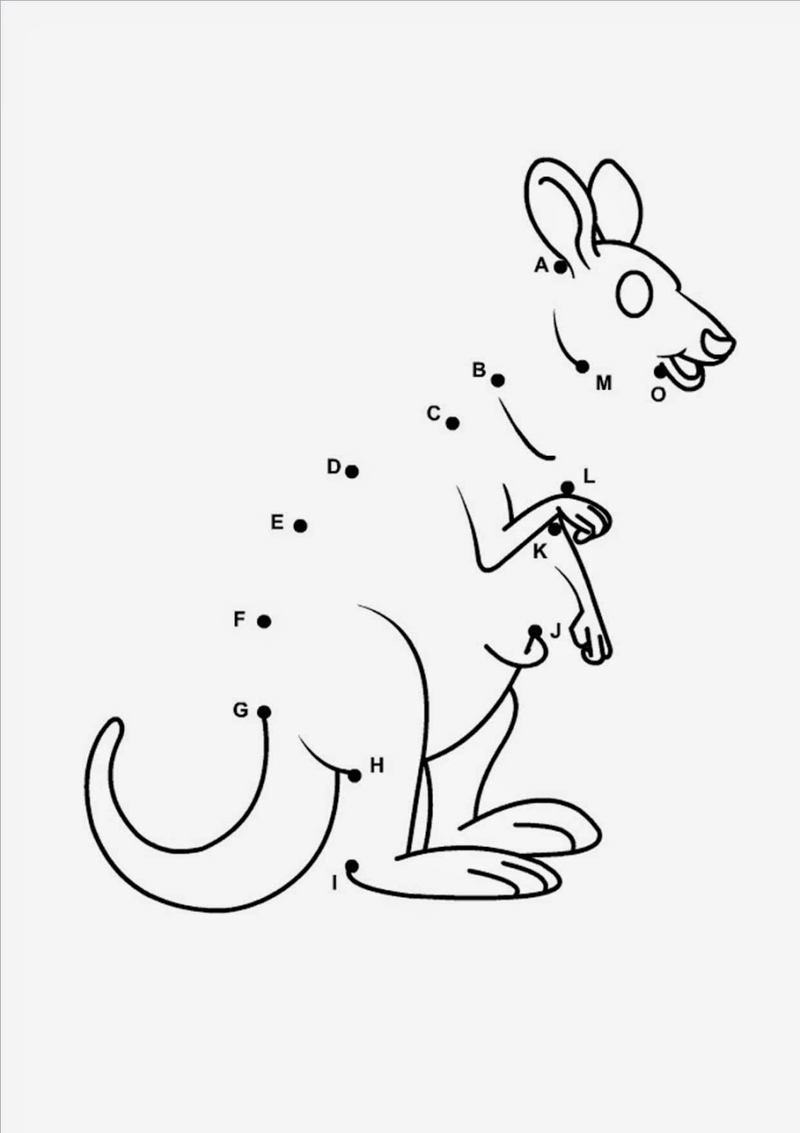 Dot To Dot Printables 1 Animals