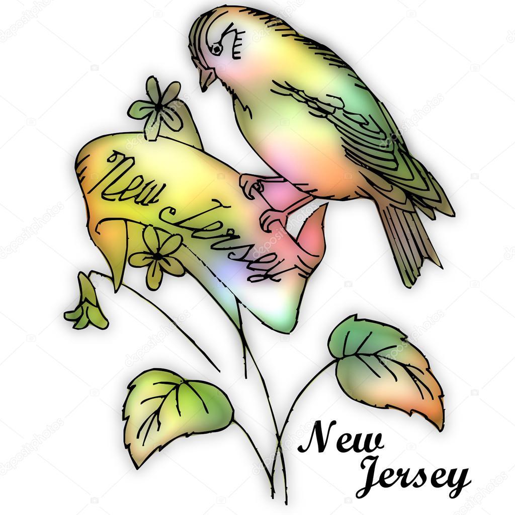 New Jersey State Bird A Stock Photo A Jrtburr