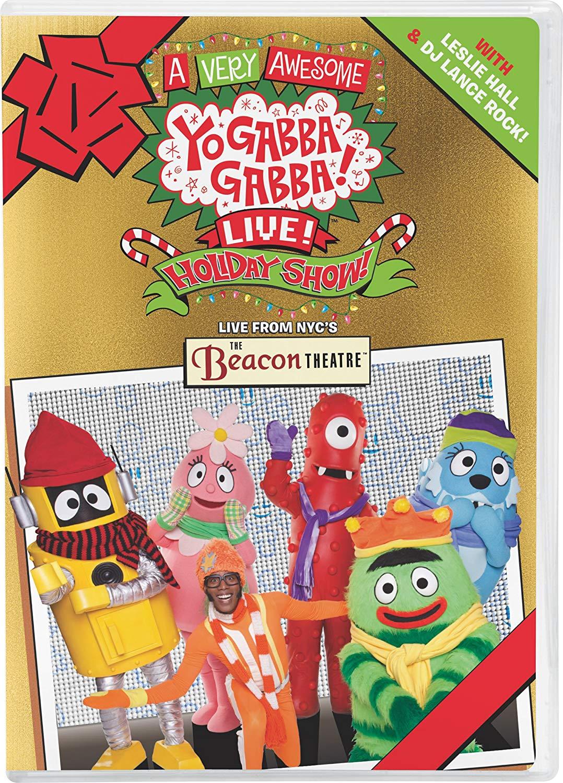Amazon Com Yo Gabba Gabba Very Awesome Ygg Live Holiday Show Yo Neo Coloring