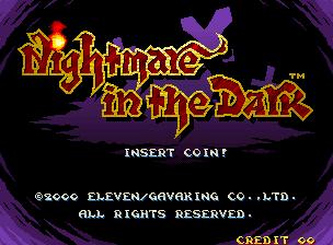 Nightmare in the Dark