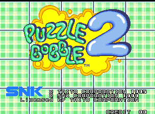 Bust-A-Move Again / Puzzle Bobble 2