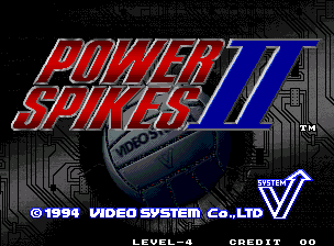 Power Spikes II / Super Volley '94