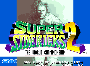 Super Sidekicks 2 - The World Championship / Tokuten Ou 2: Real Fight Football