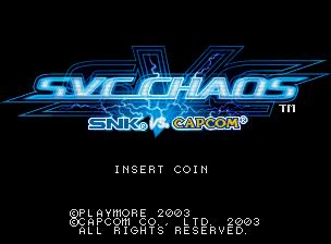 SVC Chaos: SNK vs. Capcom