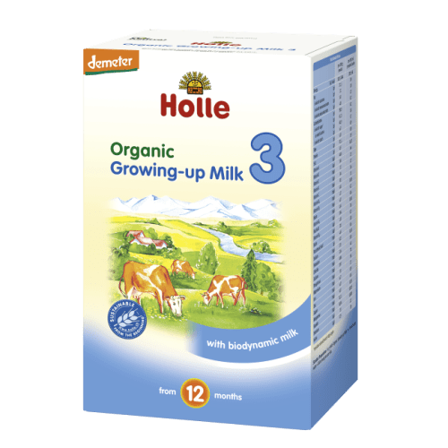 Holle formula stage 3 growing up milk