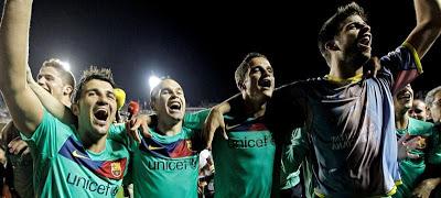 Barcelona campeon liga española 2011