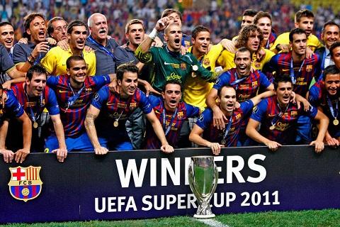 Barcelona Campeón de la Supercopa de Europa 2011