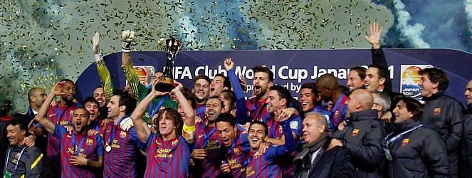 Barcelona Mundial de Clubes 2011