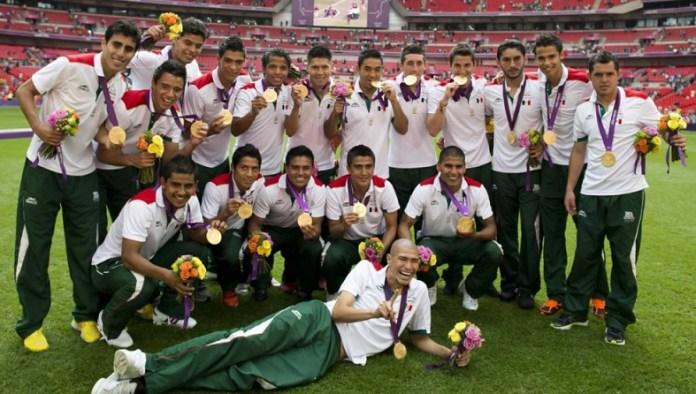 México Medalla de Oro en fútbol Londres 2012