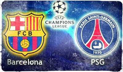 barcelona psg champions league