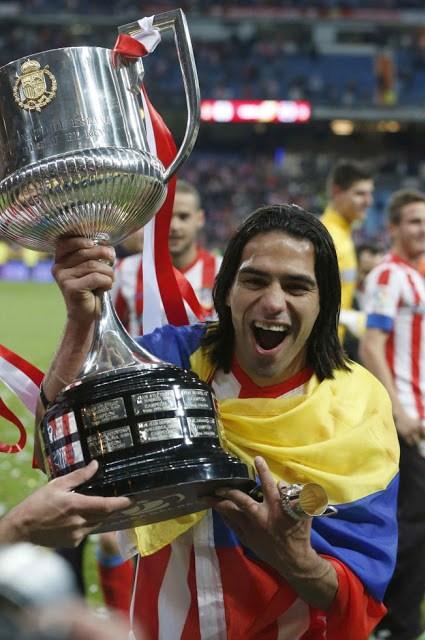 festejos atletico madrid campeon copa rey 2013