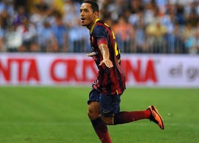 Málaga vs Barcelona 2013