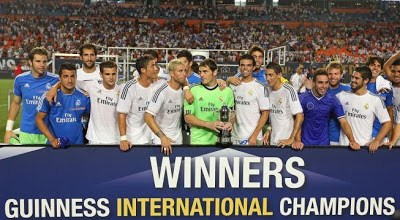 Guinness International Champions Cup real madrid campeon