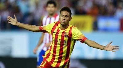 Altetico madrid Barcelona supercopa neymar