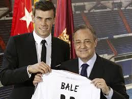 Bale con Florentino Pérez