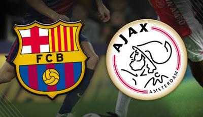 Barcelona vs. Ajax 2013 champions league