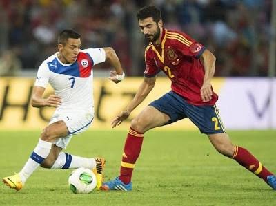 España vs. Chile 2013