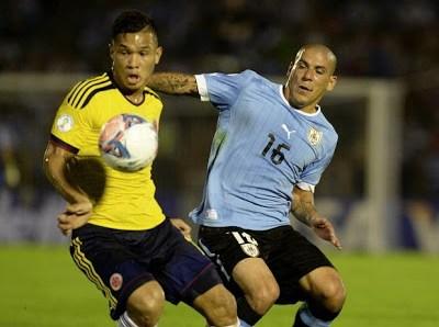 Uruguay vs. Colombia 2013