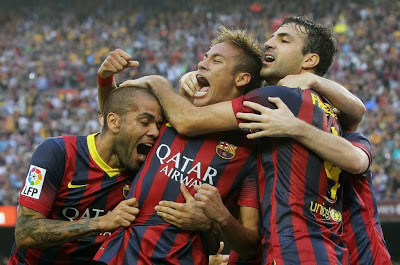 Barcelona vs. Real Madrid 2013 gol de Neymar