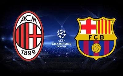 Milan vs. Barcelona champions 2013