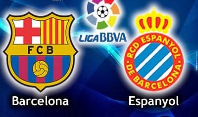 Barcelona vs. Espanyol Jornada 12 Liga Española 2013